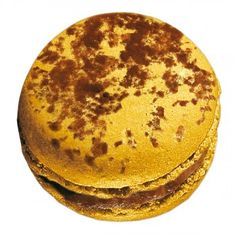 My favorite macaron. Pierre Hermé's Mogador. A mix between chocolate and passion fruit.