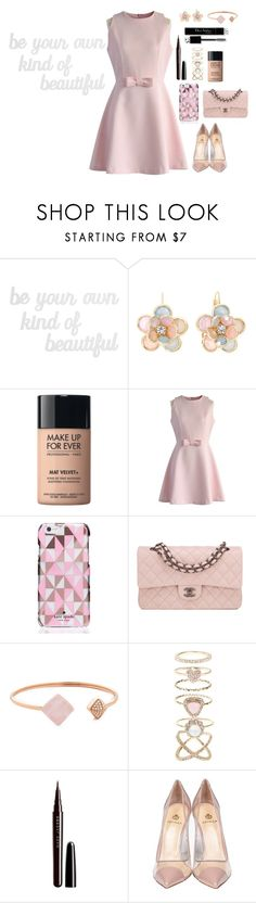 """""""Be Your Own Kind Of Beautiful"""" by disney-andthings ❤ liked on Polyvore featuring PBteen, Mixit, MAKE UP FOR EVER, Chicwish, Kate Spade, Chanel, Michael Kors, Accessorize, Marc Jacobs and Christian Dior"""