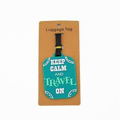 Make your bags unique with our Iconix travel tags, available in different categories. 'But first, coffee': x 'Keep calm and travel on': x 'Vacation calories don't count': x 'Stay Classy': x Travel Tags, Travel Luggage, Travel Essentials, Travel Inspiration, Inspirational, Inspiration
