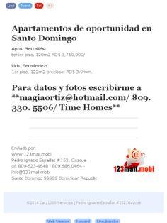Apartamentos de oportunidad en Santo Domingo