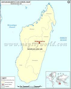 Where is Antananarivo