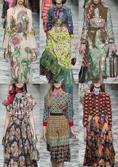 Milan Fashion Week Womenswear Print Highlights Part 1 – Spring/Summer 2016