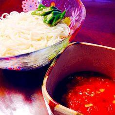 あっさりして、美味でした - 42件のもぐもぐ - トマト汁deつけそう麺 by Sakurako395
