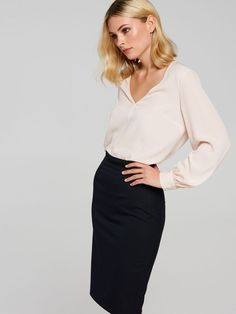 The Girl Boss Suit Skirt - Portmans Online Online Office Outfits Women, Work Outfits, Work Dresses, Church Outfits, Blazer Outfits, Business Professional Outfits, Business Outfits, Business Attire, Professional Wardrobe