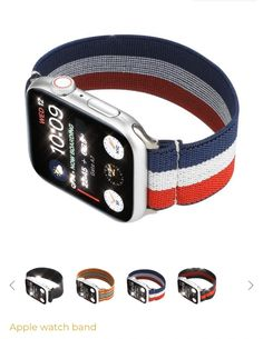 Pug Life, Red White Blue, Black And Grey, Inktober, Swing, Apple Watch Wallpaper, Apple Products, Apple Watch Bands, Tech Gadgets