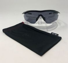 a78c96ef795 Authentic Oakley M2 Frame XL Sunglasses Polished Black Grey Lens OO9343-01   fashion