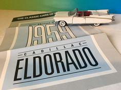 FRANKLIN MINT DIECAST PRECISION MODEL CAR CLASSIC FIFTIES 1959 CADILLAC ELDORADO