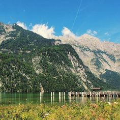 Konigsee lake, German Alps