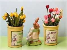 how to: miniature tulips from the wonderful Joan Swanson