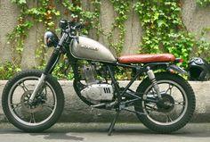 Suzuki gn125 cafe racer Suzuki Gn 125, Minibike, Cafe Racers, Custom Bikes, Monsters, Wheels, Garage, Car, Ideas