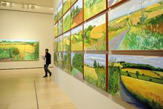First exhibition in Spain dedicated to David Hockney's landscapes opens in Bilbao