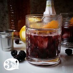 Blackberry Cobbler Cocktail with Tincup Whiskey