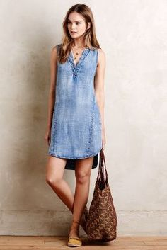 Cloth & Stone Seawashed Tunic Dress #anthrofave