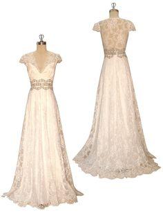 Wedding Gown - Claire Pettibone 'Brigitte' http://www.clairepettibone.com/bridal/?cp=gowns/brigitte