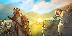 ILLUSTRATED BIBLE STORIES | God Sends Moses to Egypt | Why didn't Pharaoh listen to Moses and Aaron? What were the disastrous results? Learn how Jehovah God proves to be stronger than the stubborn Pharaoh of Egypt. Read the illustrated story online or from a printed PDF.