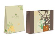 Casa Calma Wellness Hotel. Diseño de packaging. Diseñado por Bunker3022.