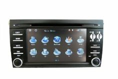 """Porsche Cayenne Navigation DVD?2003-2010?7.0 inch Digital Screen with BT/TV/FM/IPOD/RDS/GPS/CAN BUS by NewerStone. $777.00. *General: Specific car models: Porsche Cayenne?2003-2010? Package size: 32X27X25.5cm Gross Weight:4.5kg Power Supply: DC 12V Max Working Current:10A Super Anti-Shock System (ESP Function)   Steering Wheel Control Function *Screen Type:7"""" Digital Touch Screen Resolution: 800*RGB*480 Picture In Picture Function, Can display 2 functions on screen at the sa..."""