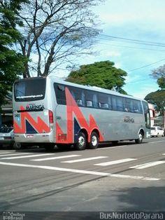 Ônibus da empresa Expresso Maringá, carro 5401, carroceria Busscar Vissta Buss HI, chassi Mercedes-Benz O-500RSD. Foto na cidade de Apucarana-PR por BusNortedoParaná, publicada em 17/10/2016 06:08:01.