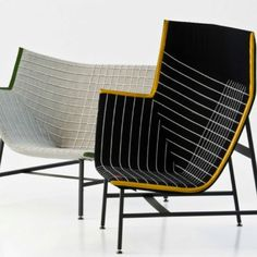 Industrial designers Nipa Doshi and Jonathan Levien of Doshi Levien develop some pretty amazing furniture
