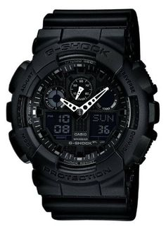 Men  Watches - Casio Mens GA1001A1 Black *** See this great product. (This is an Amazon affiliate link)