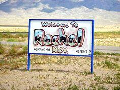 Extraterrestrial Highway, Rachel, Nevada, USA