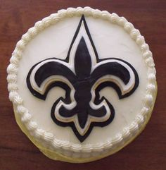 Thanks to Rebecca Holland for sending us this picture of her son's birthday cake! #NOLA #Saints #Cake #BirthdayCake