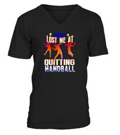Short Sleeve Shirts Light Orange Quitting Handball Tee Shirt