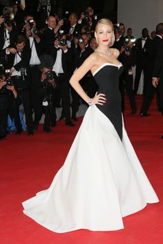 """Blake Lively in Gucci Premiere 