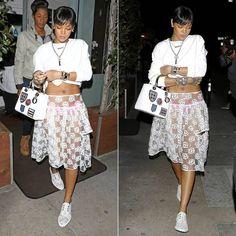 Rihanna Wearing Simone Rocha