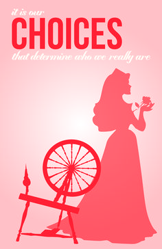 Young Women values with Disney Princess themes- Aurora for Choice & Accountability