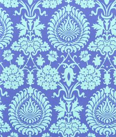 Amy Butler Bali Gate Periwinkle Fabric - $8.95 | onlinefabricstore.net  or maybe not? just a bit
