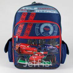 Jelfis.com - 16' Large Disney Pixars Cars Backpack - Attack McQueen Boys School Book Bag, $17.99 (http://www.jelfis.com/16-large-disney-pixars-cars-backpack-attack-mcqueen-boys-school-book-bag/)