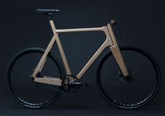"Woodworker designs solid ash bike for ""exceptional comfort""."