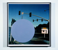 Available for sale from Richard Levy Gallery, John Baldessari, National City Archival inkjet photographs with hand painted acrylic, 25 × Photo Wall Collage, Collage Art, Art Collages, John Baldessari, Seattle Art, Museum Of Fine Arts, Conceptual Art, Art Fair, Art Market