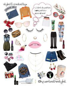 """stylish thoughts"" by k-fuentesthestylist on Polyvore featuring Jennifer Fisher, Charlotte Russe, Miu Miu, Betsey Johnson, Dolce&Gabbana, Puma, Nasty Gal, Laurence Dacade, Joshua's and NYX"