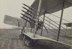 """1916 - Vue de """"Farman"""" torpilleur - Section de photographie aérienne du groupe des escadrilles du camp retranché de Paris"""