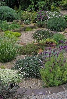 Image result for gravel garden