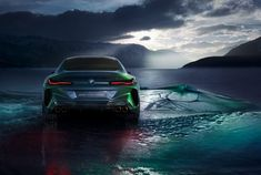 BMW concept M8 gran coupe glimmers in luxury, sportiness and expressiveness