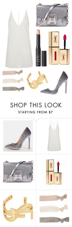 """""""Sans titre #165"""" by woodsenlikethis ❤ liked on Polyvore featuring Topshop, Proenza Schouler, Yves Saint Laurent and NARS Cosmetics"""