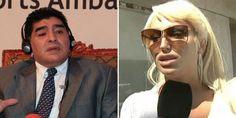 La bomba de la tarde: Vicky Xipolitakis, muy cerca de Diego Maradona http://www.ratingcero.com/c100487