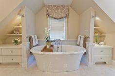 Relax in a beautifully remodeled #bathroom. @BainUltra Balneo Sanos therapeutic soaking tub! | http://www.shopstudio41.com/by-brand/bainu/Bain-Ultra.html