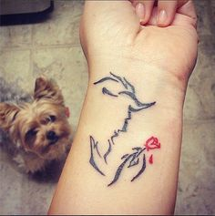 Disney Tattoos | POPSUGAR Beauty
