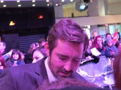 Lee Pace (made by Angela Bruininks), at The Hobbit- Battle of Five Armies World Premiere