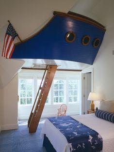 Patriotic Ship Bedroom!