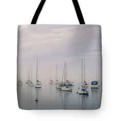 Seascape Tote Bag featuring the photograph Sailing by Silvia Bruno