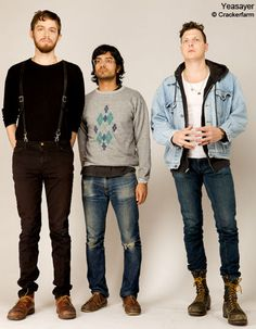 i think yeasayer is the sexiest band alive. the middle one (Anand Wilder) is my favorite. the one on the far right is 100% man.