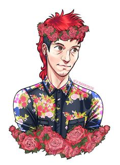 by by poweredbycokezero) Twenty One Pilots Art, Growing Old Together, Rawr Xd, Top Memes, Art Icon, Beautiful Person, My Chemical Romance, Spirit Animal, Cool Bands