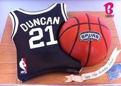 Spurs cake Mais