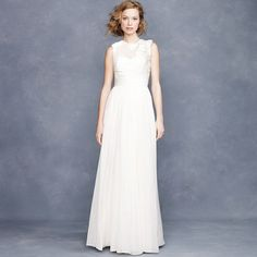 J.Crew Violette gown. So pretty and ethereal!