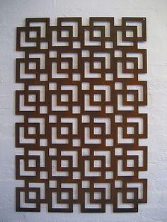 Square on Square Stencil Patterns, Wood Patterns, Doddle Art, Jaali Design, Plasma Cutter Art, Geometric Stencil, Cnc Cutting Design, Stencil Wall Art, Window Grill Design